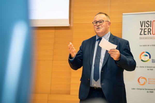 Monsieur Romain SCHNEIDER, Ministre de la Sécurité sociale