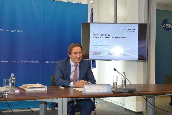 Jean-Paul Olinger, directeur de l'UEL et de l'INDR