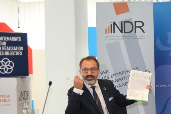 Norman Fisch, secrétaire général de l'INDR